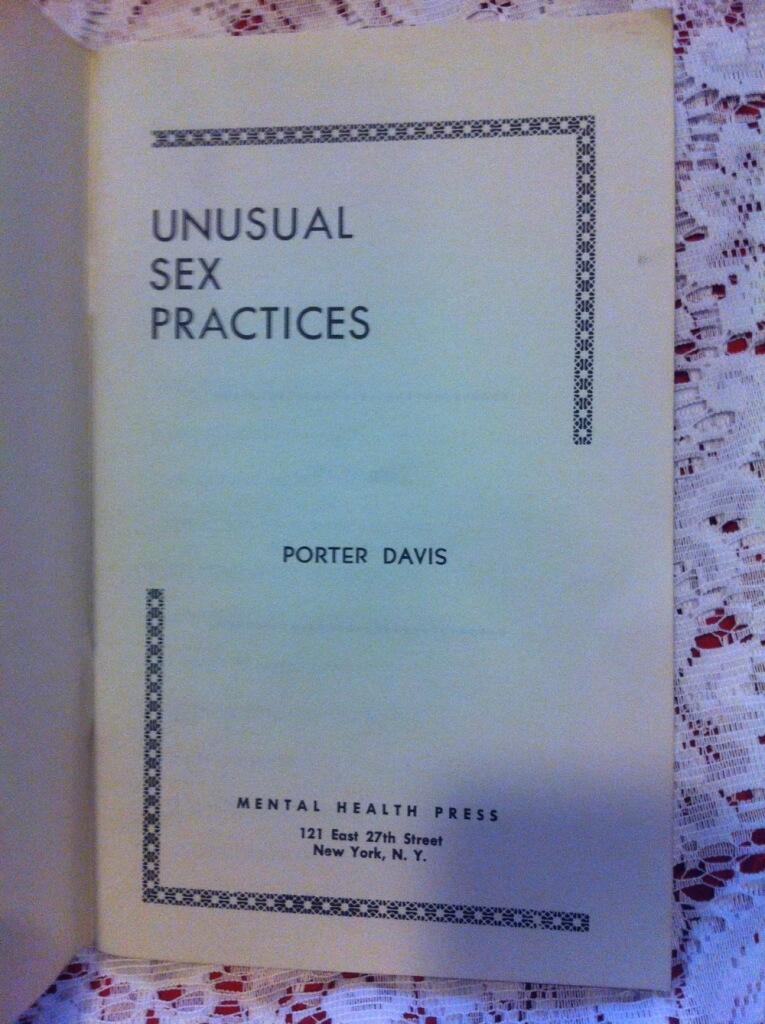Unusual Sex Practices 118